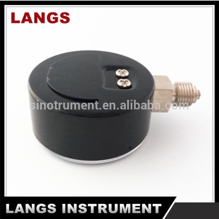 047 40mm, 50mm, 63mm Black Steel Bottom Manometer