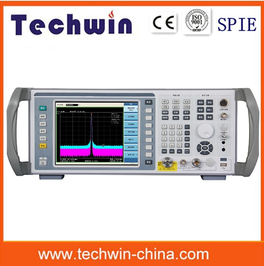 Techwin Phase Noise Spectrum Analysis Similar to Anritsu Spectrum Analyzer