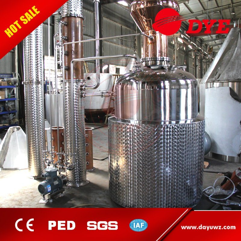 Used Discontinuous Industrial Pot Still Distillation Equipment