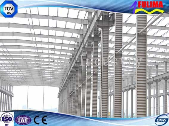 China Steel Structure Prefabricated Building for Warehouse