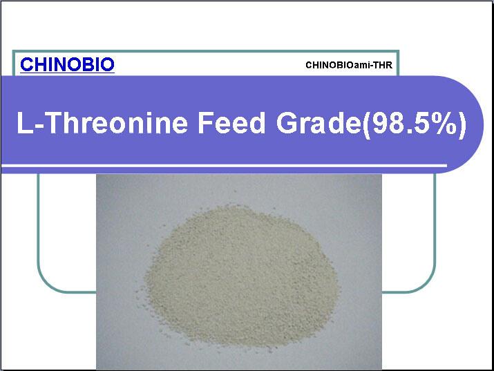 L-Threonine Feed Grade (98.5%) for Animal Feed Additives