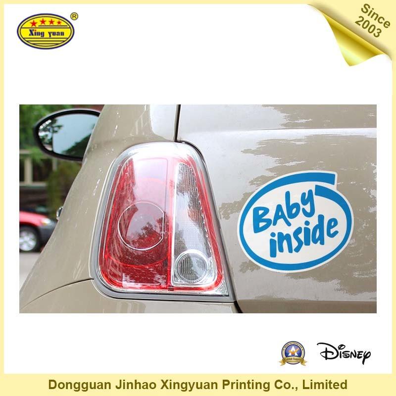 Adhesive Sticker, Car Sticker, PVC Sticker (JHXY-AS110003)