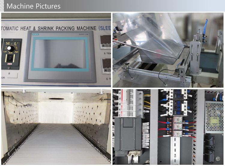 Automatic Bottom Lap Sealing Shrink Packing Machine