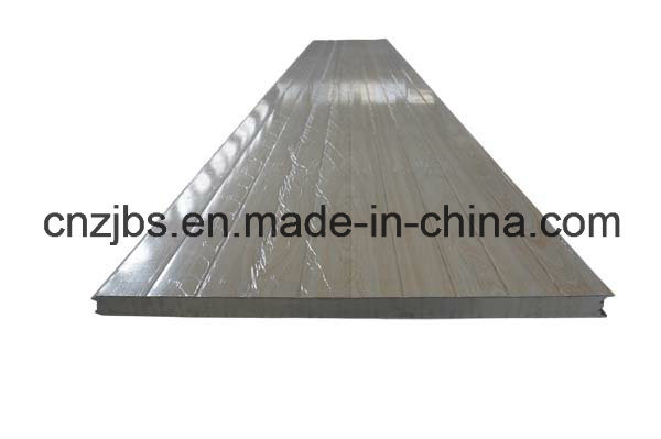 Wood Pattern Steel Skin PU Sandwich Panel