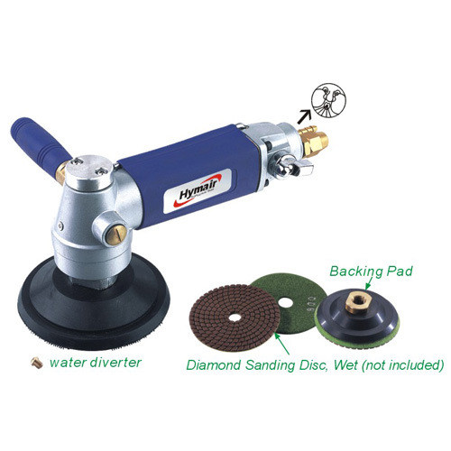 4′′ (3′′) Wet Air Sander/Polisher (Water-Feed Type) (AT-585WL)