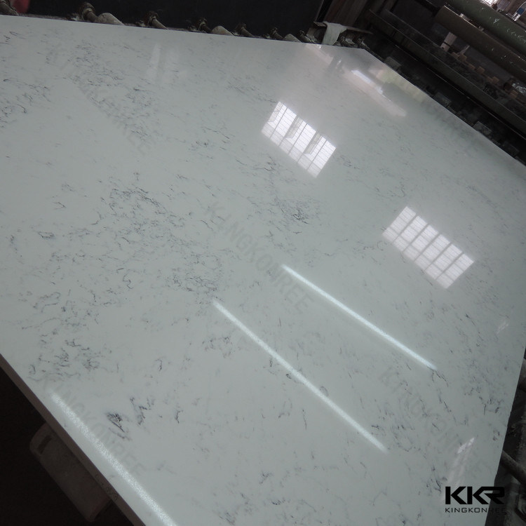 Kingkonree Artificial Marble Slab Man Made Quartz Stone