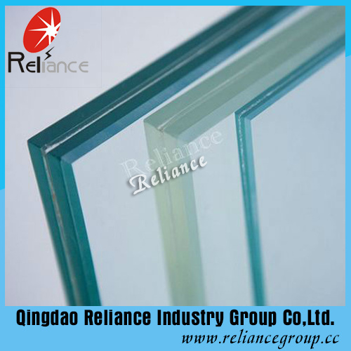 6.38mm-12.38mm Clear Laminated Glass / PVB Glass /Layered Glass /Double Glass /Windown Glass /Car Glass