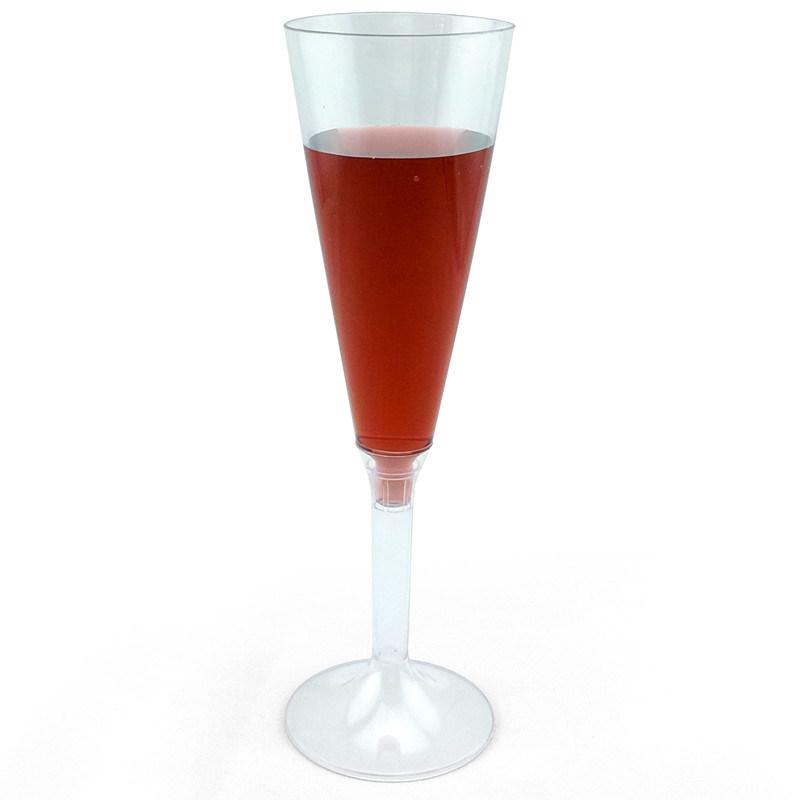 PP/PS Plastic Cup Champagne Flutes 5 Oz