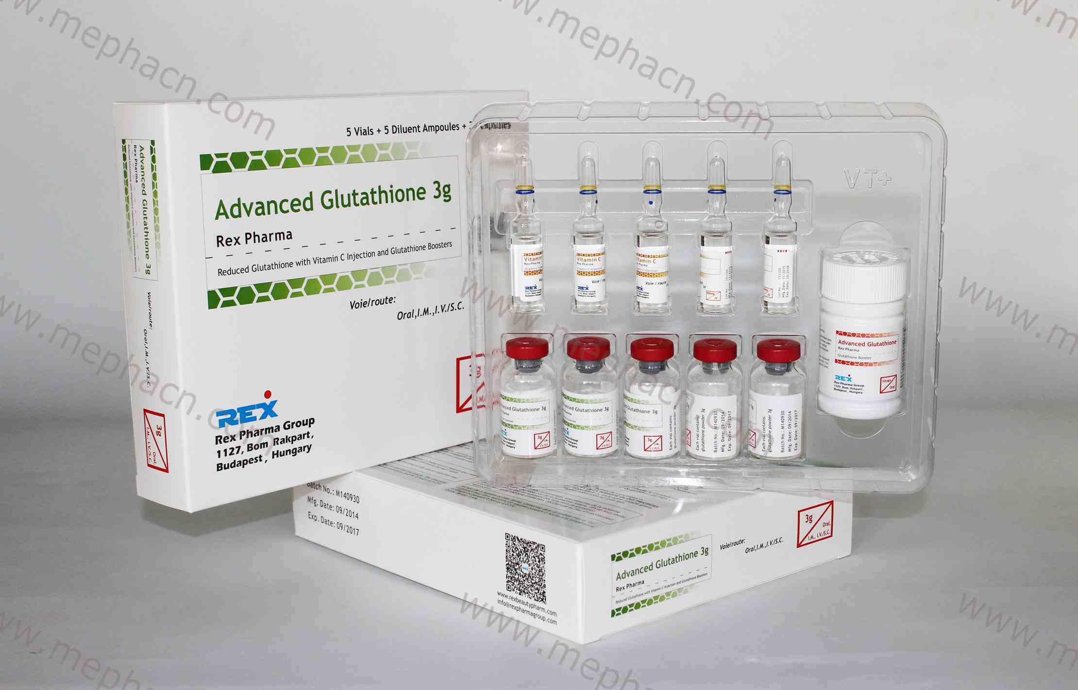Effective Reduced Glutathione IV Injection 3000mg&Glutathione