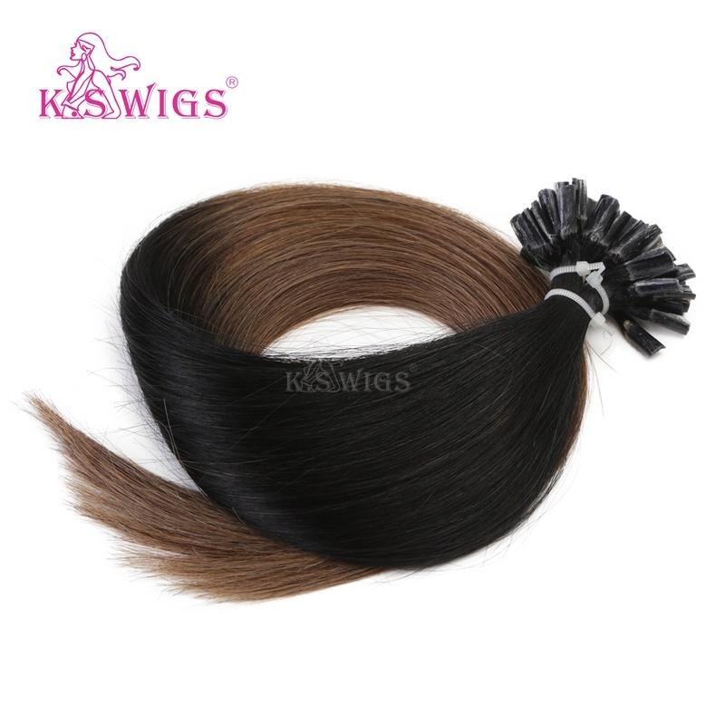 Top Grade Keratin Hair Russian Remy Human Hair Extensions