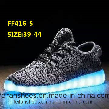 Men Flashing LED Light Shoes Sport Shoes (FF416-5)