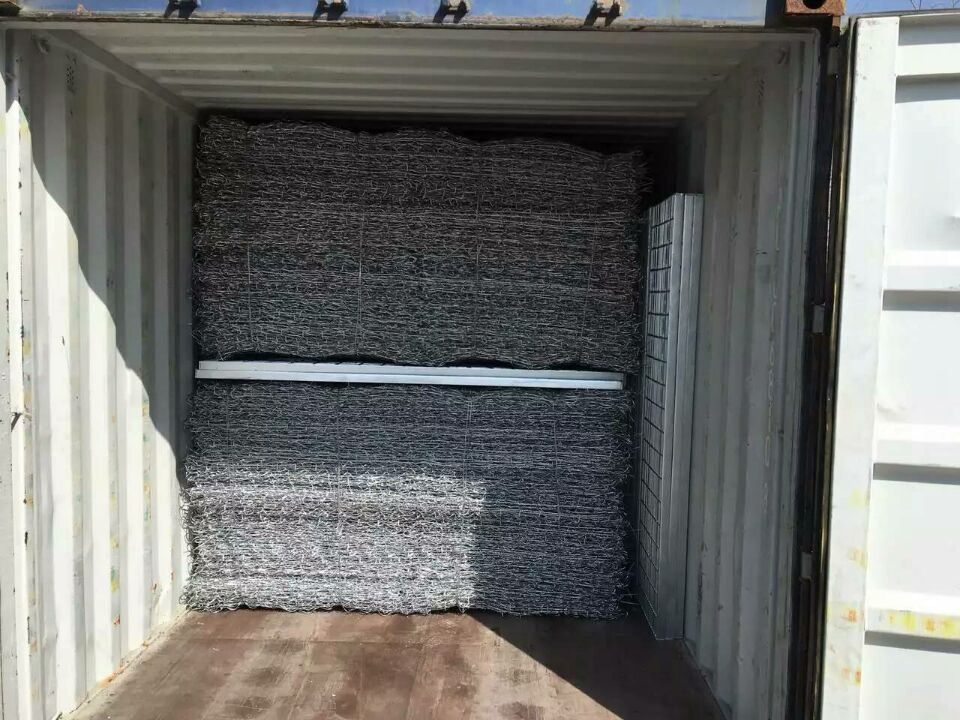 Highly Hot DIP Galvanized Gabion Box Anti-Rust China Anping Factory