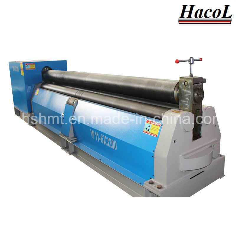 W11 Series Symmetric Rolling Machine with Three Rollers /Powered Slip Rolls/Plate Rolling Machine/ Plate Bending Machine/Folder Machine/