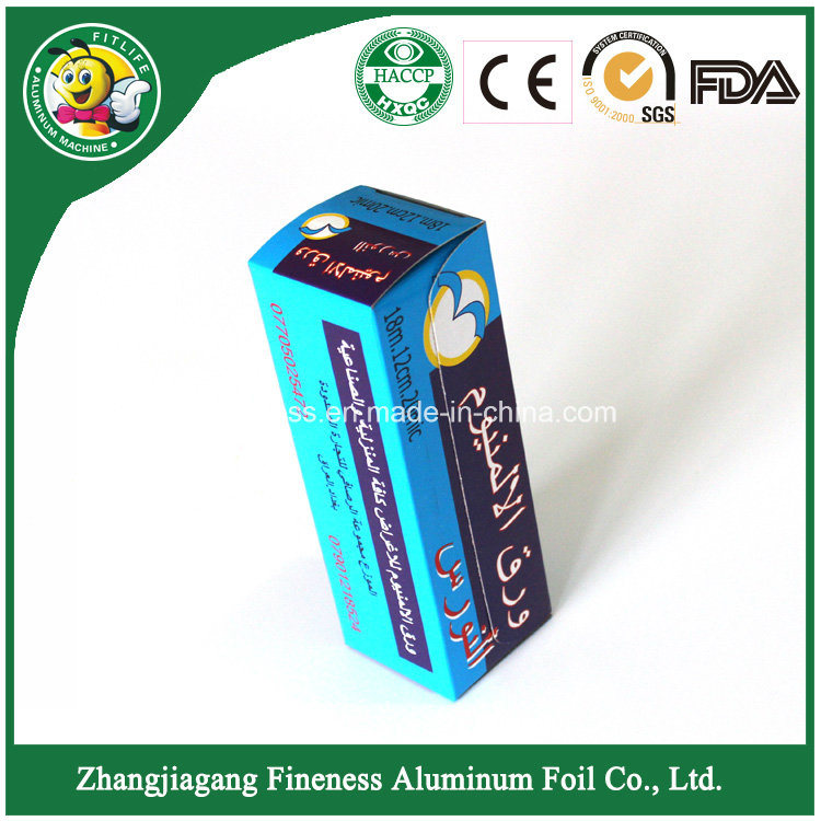 Roll Type Shisha Aluminum Foil Heat Rensistant