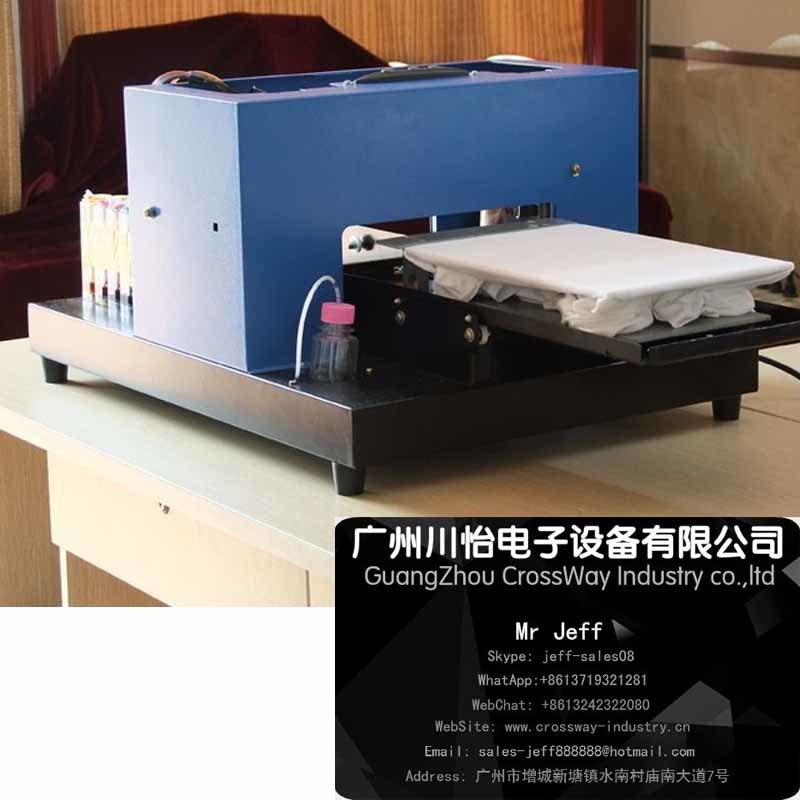 Tshirt fabric Direct Printer with Texile Ink Printing