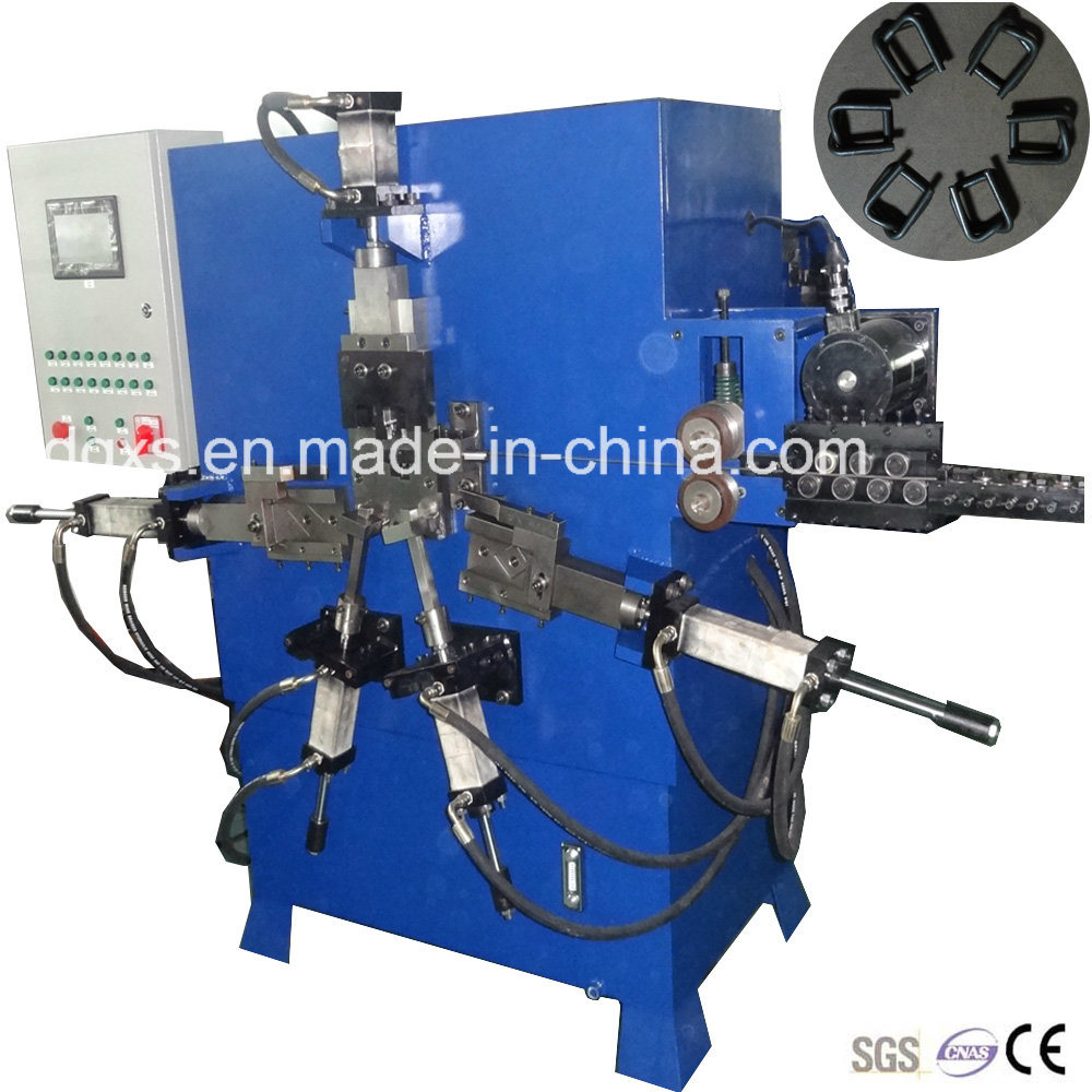 Hydraulic Square Metal Strapping Wire Buckle Machine (GT-dB4)