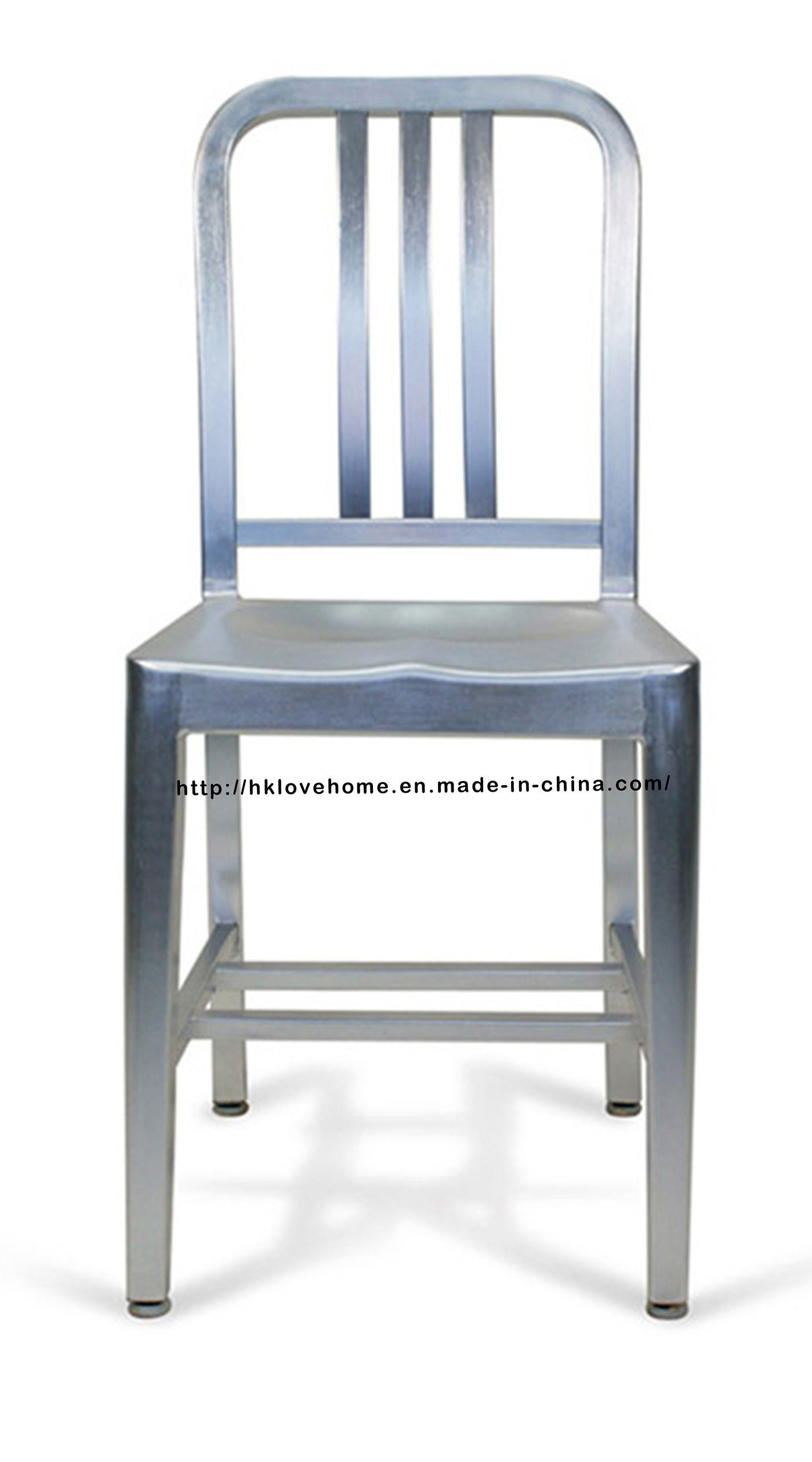 China Emeco Dining Restaurant Coffee Aluminum Navy Chair