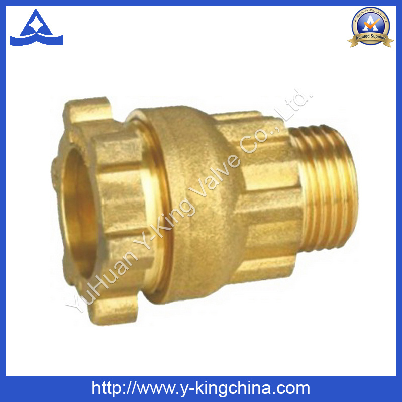 High Quality Brass Female Plumbing Tee Fitting (YD-6049)