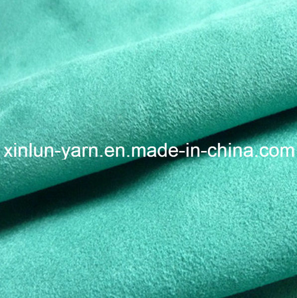 Blackout Printed Textile Suede Fabric for Curtain Sofa