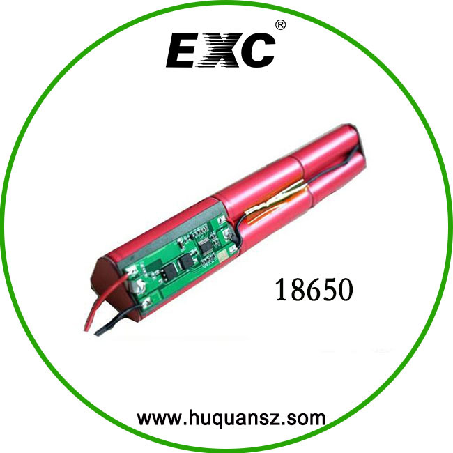 Lithium Ion Battery Series and Parallel 18650 Bag Rechargeable Battery Pack