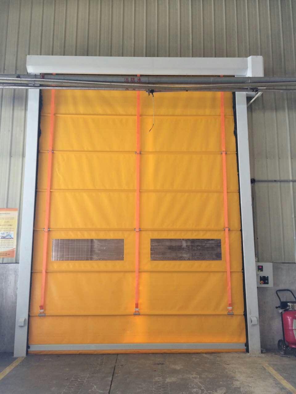 Commercial Motor Drive Automatic Industrial Door