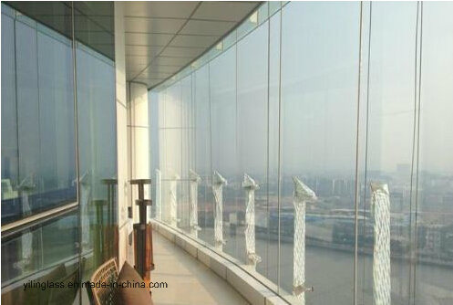 High Quality Toughened Glass for Building Wall, Balustrade, Ceiling