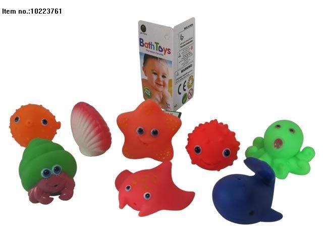 Vinyl Animal Toys of Water Spray with Bb for Kis