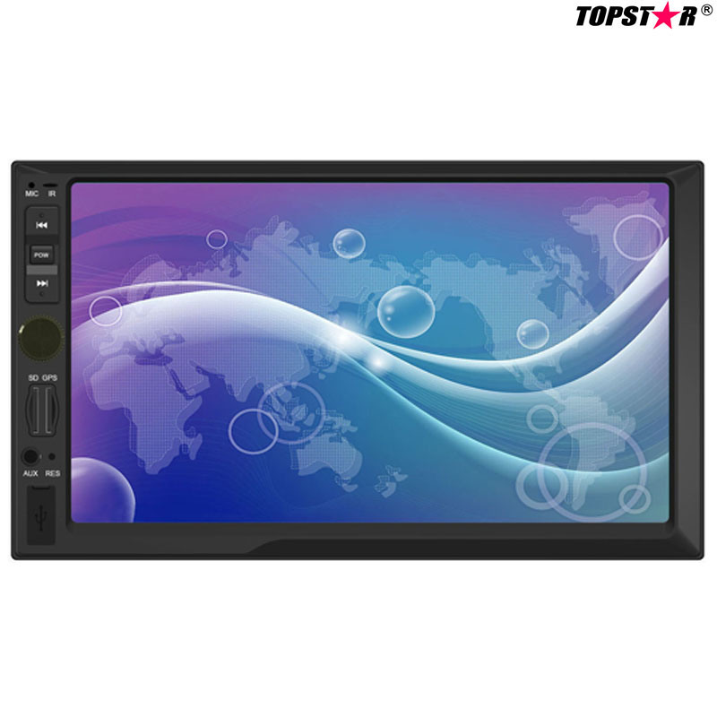 7.0inch Double DIN 2DIN Car MP5 Player with Wince System Ts-2019-2