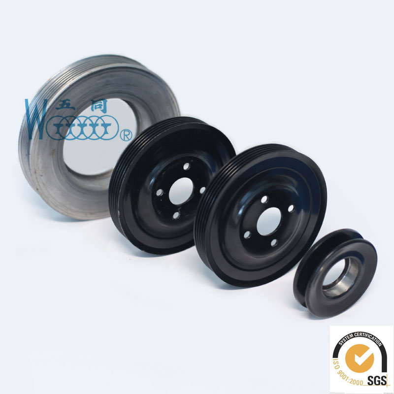 Iron High quality Ribbed Pulley