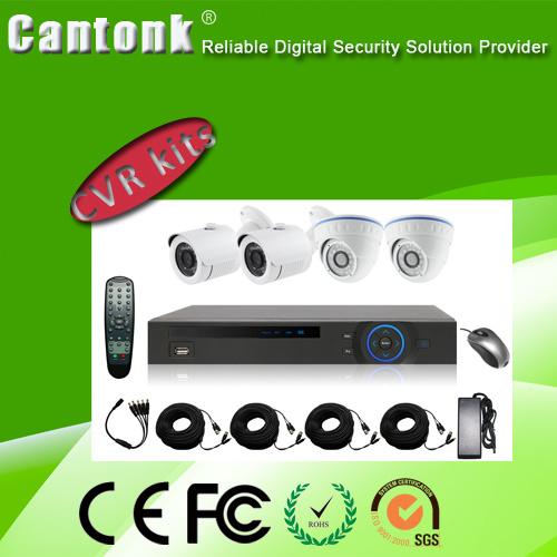 DVR Kits Bullet Dome Water-Proof CCTV Network Ahd CCTV Camera
