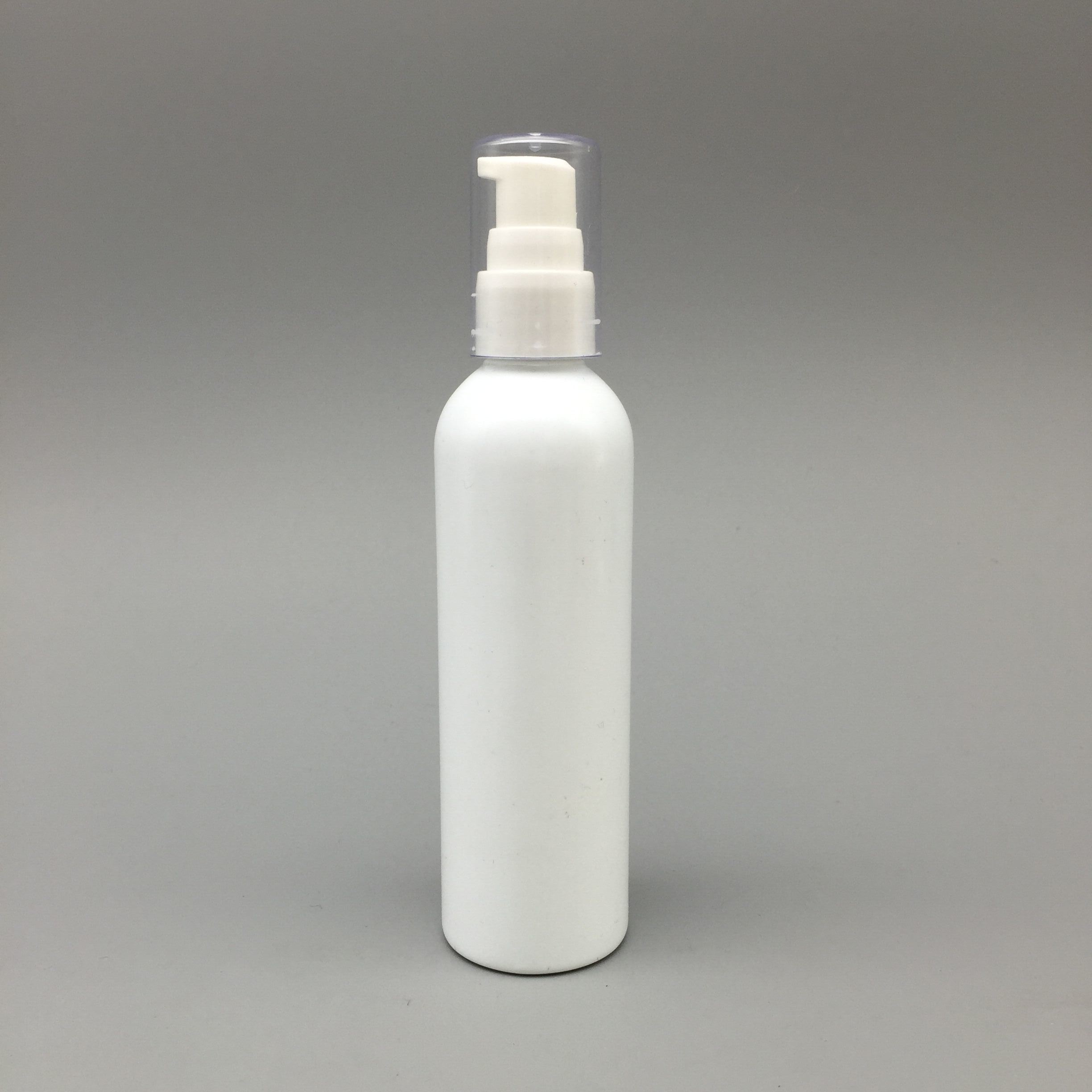 120ml White Color Pet Bottle with Sprayer Cosmetic Packaging
