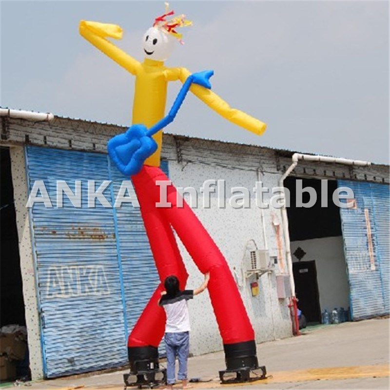Clown Inflatable Two Legs Sky Dancer Anka