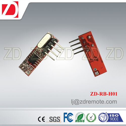 Best Price Superheterodyne 433MHz RF Receiver Module for Motorcar Alarm System Zd-Rb-H06