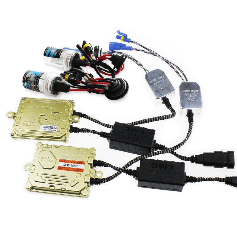 Evitek HID Xenon Canbus Kit with Zero Error Xenon 55W Ballasts and Bulbs