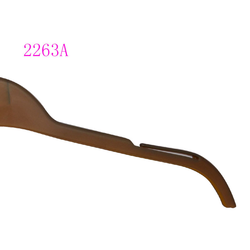 Wooden Looking Shirt Hanger Flat Style Custom