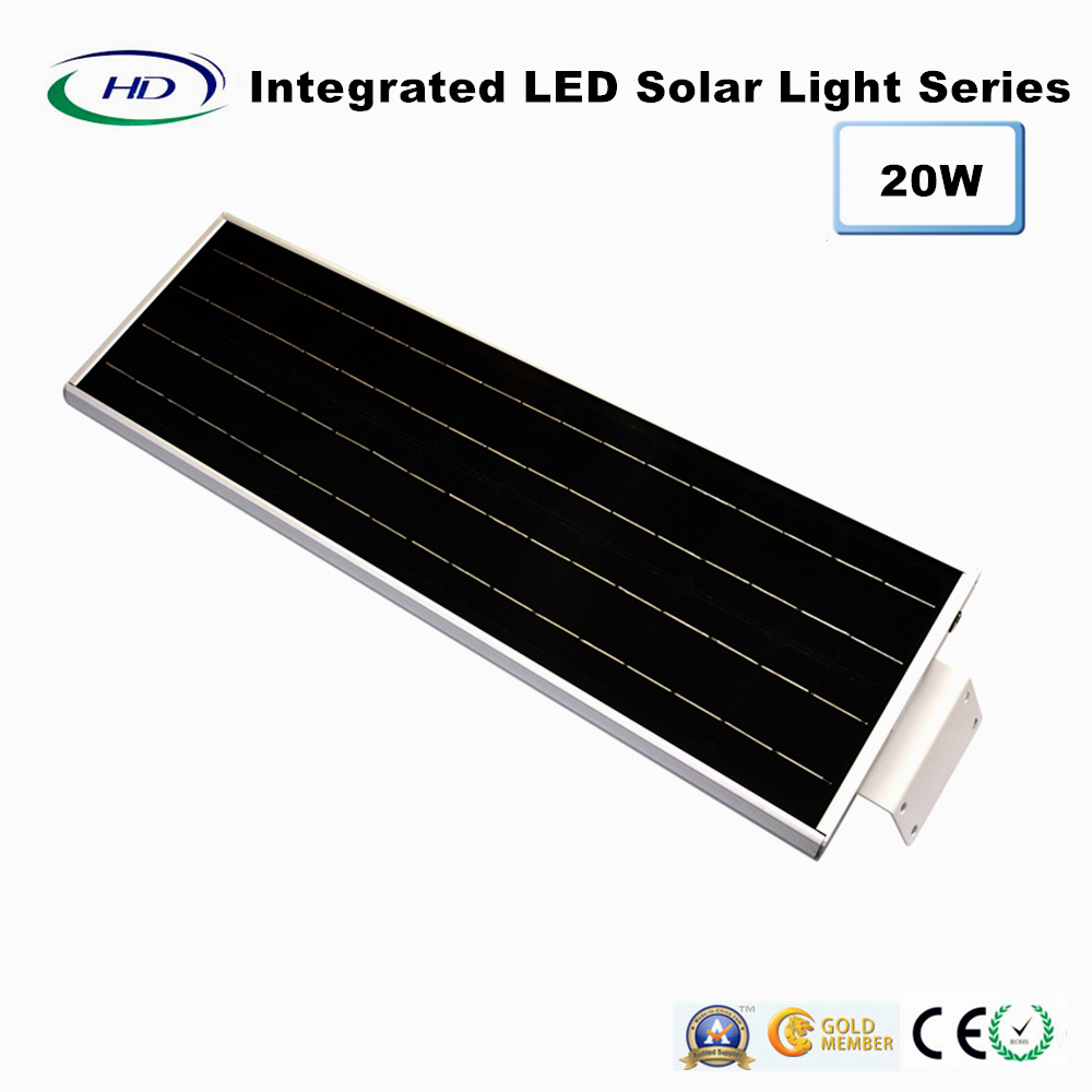 20W PIR Sensor Integrated Solar Garden Light