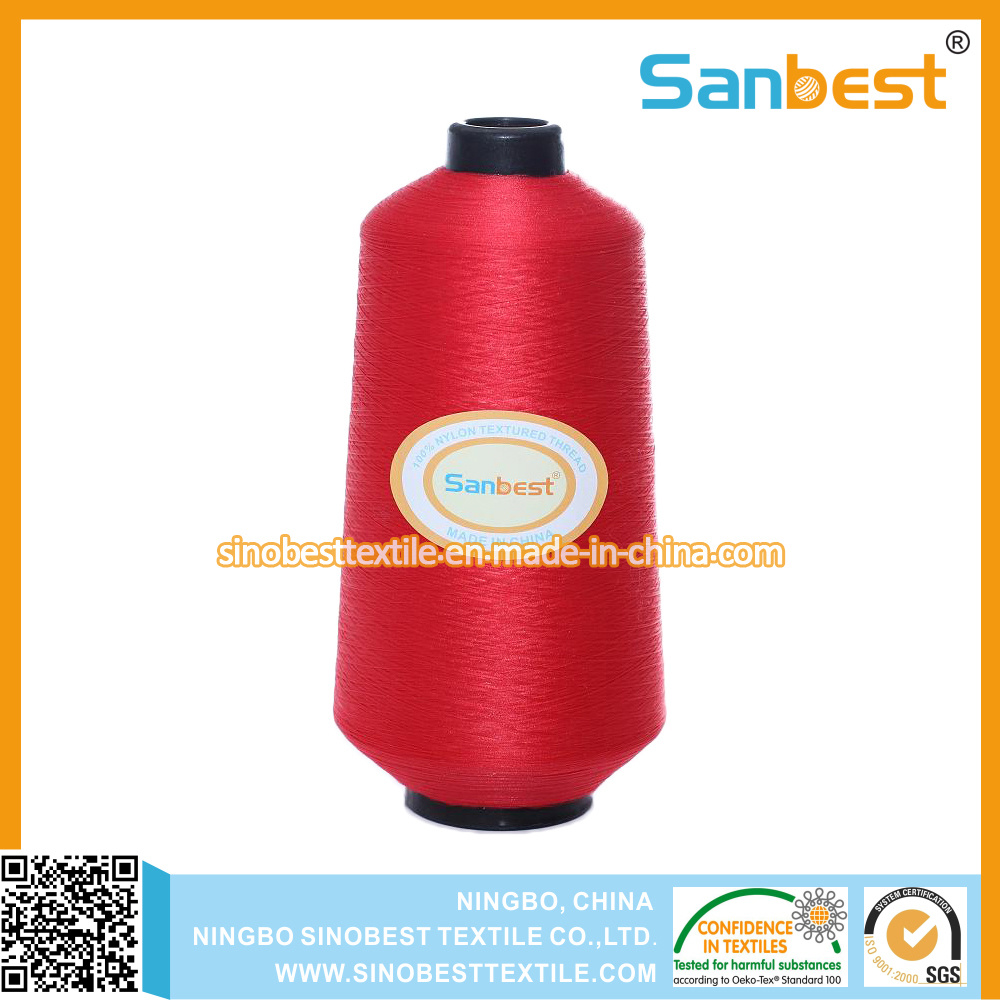 100% Nylon Textured Woolly Thread for Swimwear and Underwear