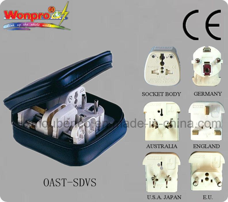 Universal Travel adaptor (Socket, Plug)(AST-SDVS)