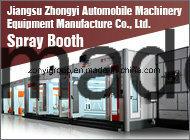 TUV Spray Booth High Quantity Spray Booth Factory