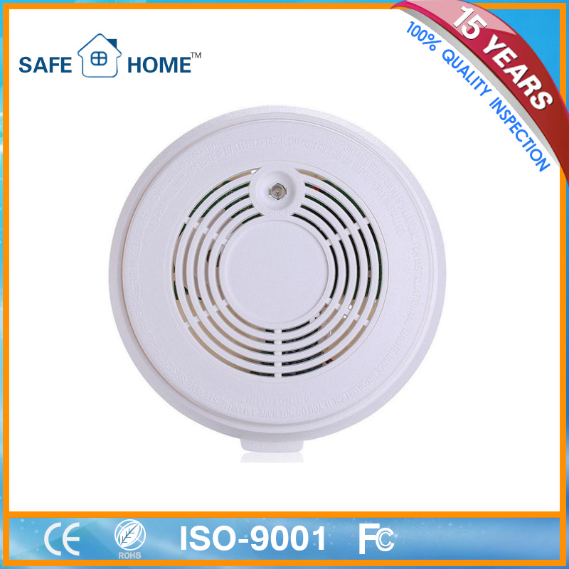 OEM Home Security Photoelectric Gsmsms Auto Dial Fire Smoke Detector