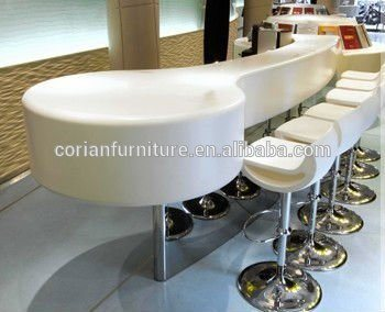 Acrylic Solid Surface Restaurant Dining Table
