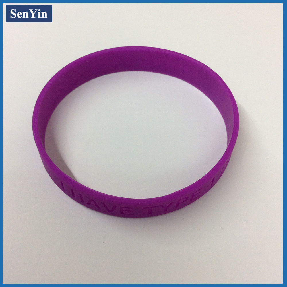 Style Cheap Wrist Bands Silicon Wristband OEM Debossed Silicone Bracelet