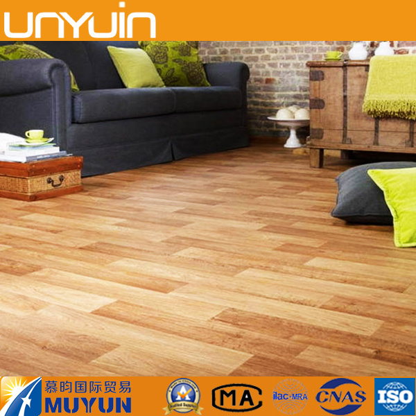 Cheap PVC Wooden Grain Anti-Static Vinyl Tile Floor