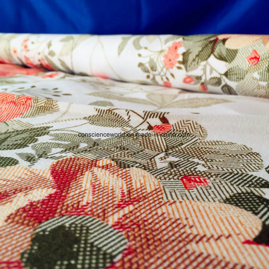 100%Polyester Disperse Printed Fabric 120GSM for Bedding Set
