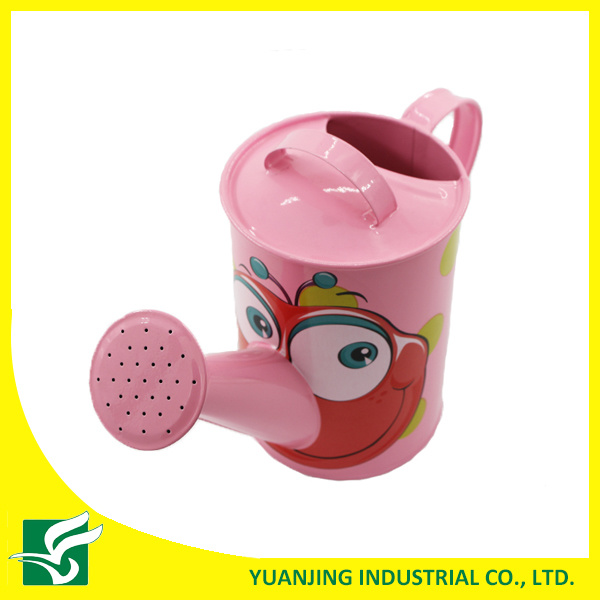 Mini Cartoon Watering Can for Kids Home Garden Decoration