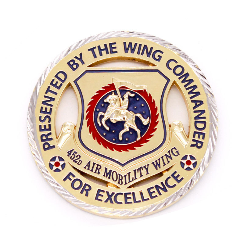 Wholesale Custom High Quality Challenge Coin