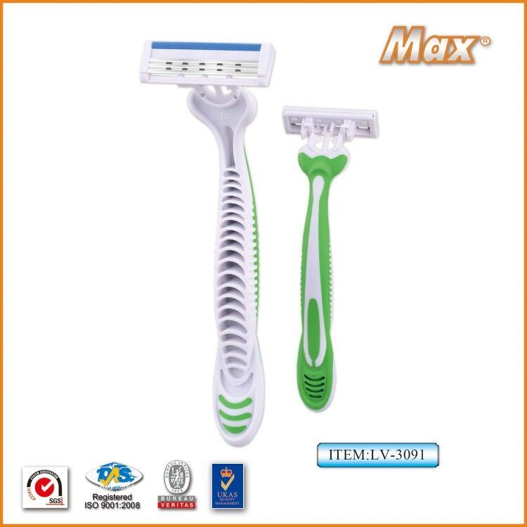 Hot Selling Triple Blades Disposable Shaving Razor