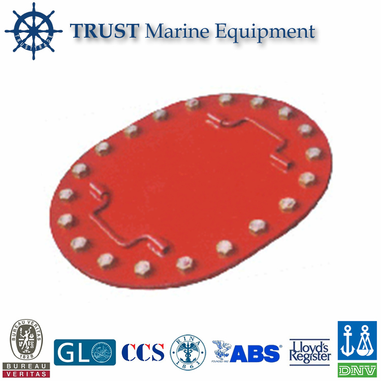 Marine B Type Ship Steel Manhole Hatch Cover for Ship