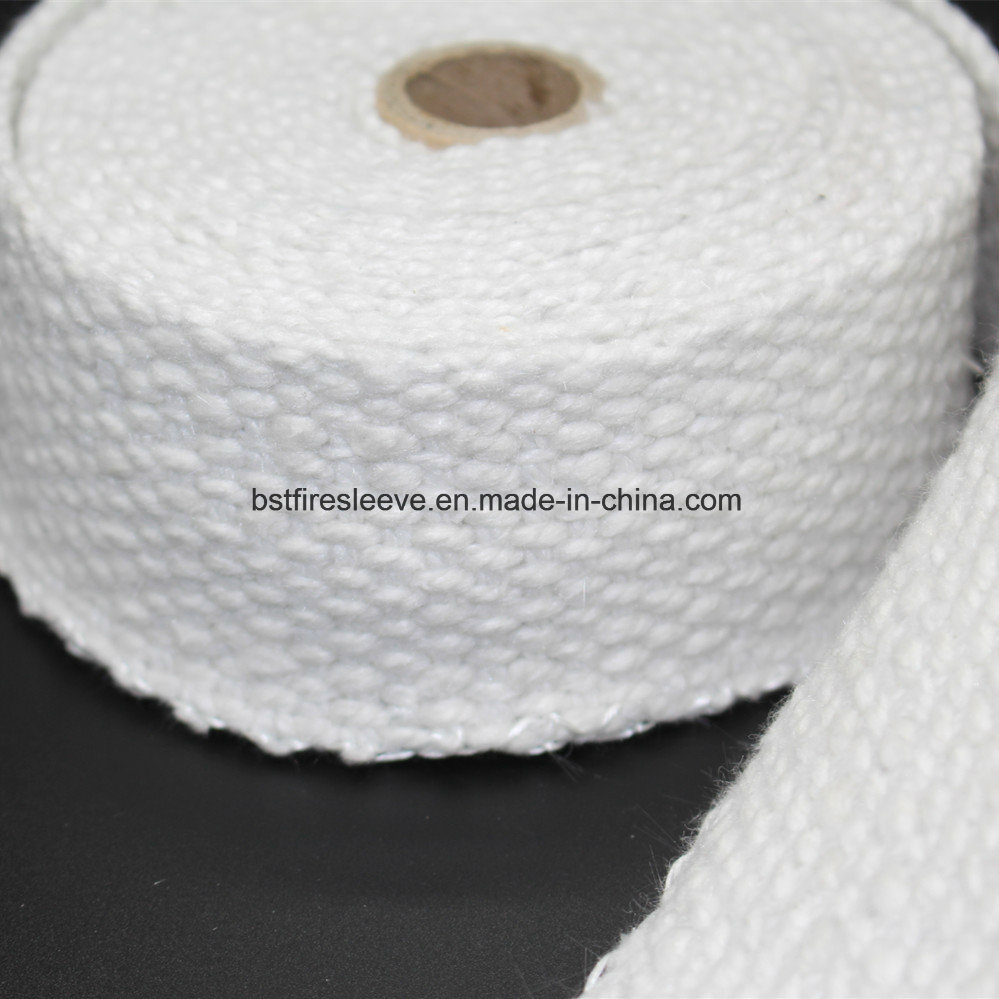 Thermal Resistant Ceramic Fiber Exhaust Pipe Insulation Wrap