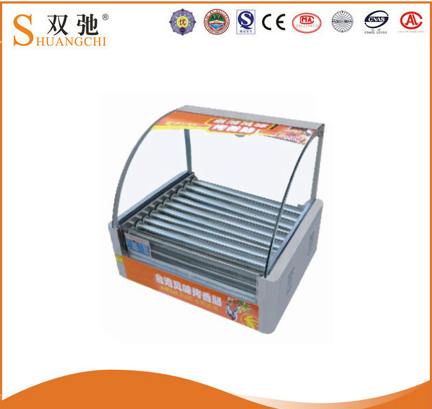 Rolling-Hot Dog Grill Hot Dog Roller Grill with 10 Roller